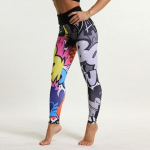 Cómic Leggings Quick Dry