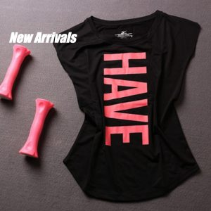 Have Fun Woman Top, Fitness, Running, GYM, Crossfit