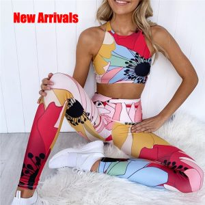 Sexy Print Set – Yoga, Running, Fitness, Training