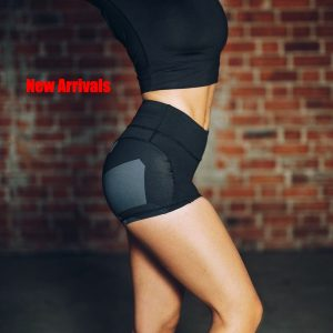 Fast Dry Black Short – Yoga, Fitness, Run, GYM